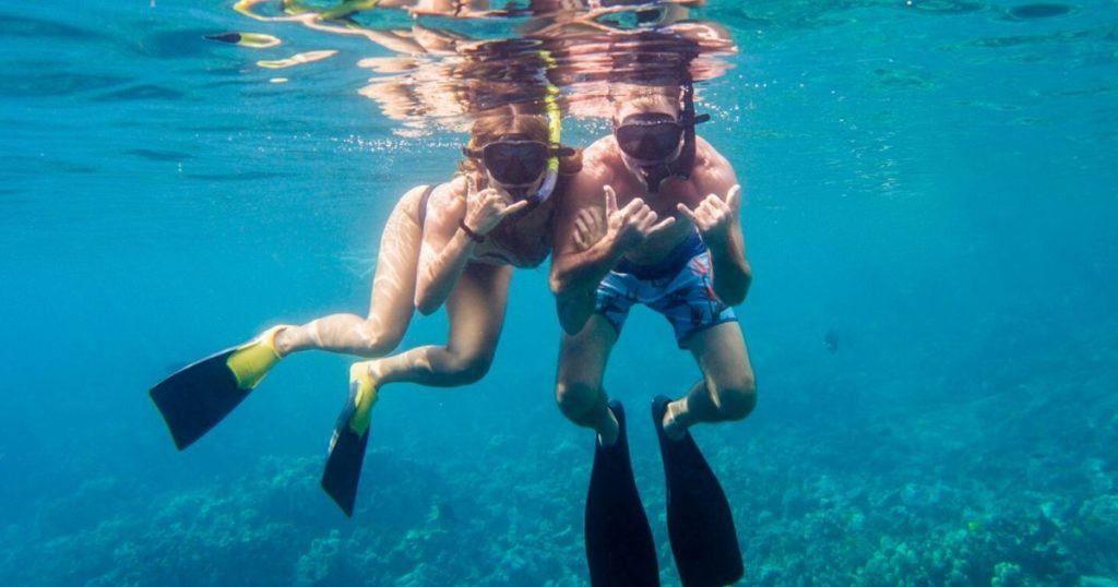 Snorkeling on the Big Island